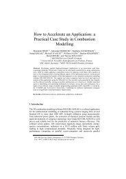 How to Accelerate an Application: a Practical Case Study in ...