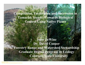 PowerPoint - Center for Invasive Plant Management
