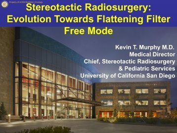 Stereotactic Radiosurgery: Evolution Towards Flattening ... - Varian