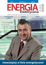 numer 8/2008 - E-elektryczna.pl