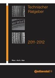 Technischer Ratgeber 2011·2012 - Continental