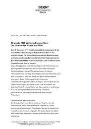 Strategie 2020: Die Gemeinden haben das Wort - Wirtschaftsraum ...