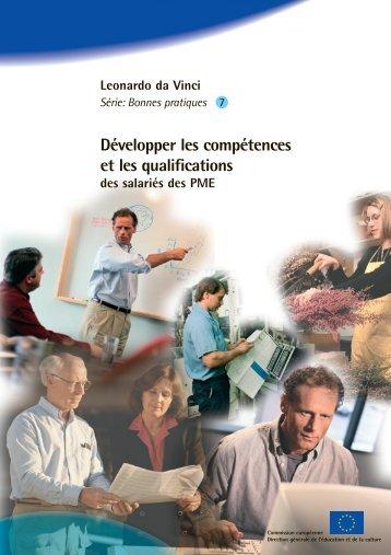 Développer les compétences et les qualifications - European ...