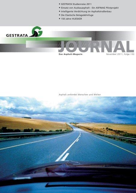 Gestrata Journal Ausgabe 133 (November 2011)