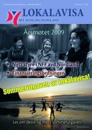 Lokalavisa nr 2 final 2009.pdf - Norsk Fysioterapeutforbund