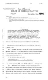 51253;? TH HOUSE FILE N o. 3 1 - Minnesota State Legislature