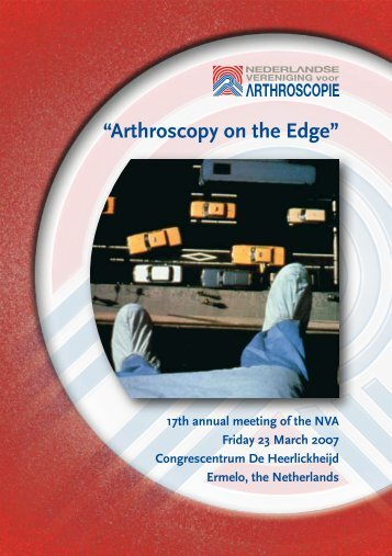"""Arthroscopy on the Edge"""