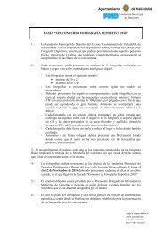 FMD - Fundación Municipal de Deportes Ayuntamiento de Valladolid