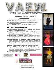 SPRING HAIR MAKEUP COMPETION! - VA Fashion Week 2012