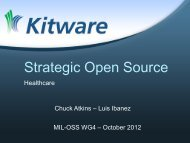 Strategic Open Source: From Healthcare to Intelligence - Mil-OSS