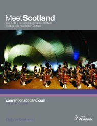 MeetScotland Brochure - Scottish Convention Bureau