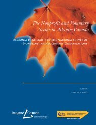 The Nonprofit and Voluntary Sector in Atlantic Canada
