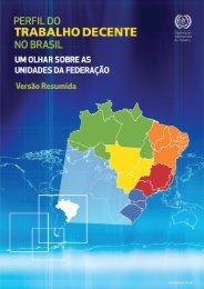 Perfil do Trabalho Decente no Brasil - Início