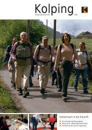 Gemeinsam in die Zukunft - Kolping Schweiz