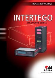 Intertego - Rose & Bopla Enclosures