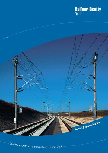 Power &Electrification; - Balfour Beatty Rail
