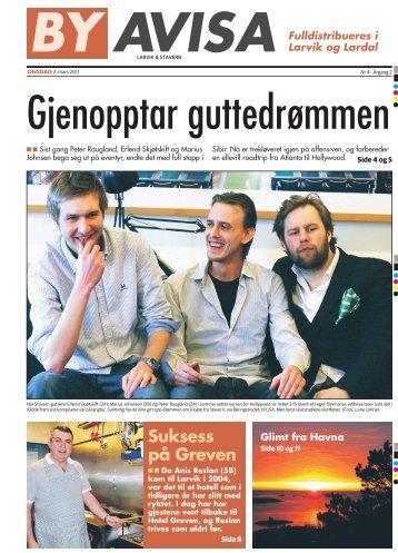 Suksess på Greven - Byavisa Larvik & Stavern