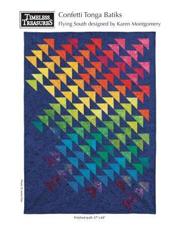 Tonga Confetti-Flying South - Flare Fabrics