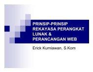 Prinsip-prinsip RPL dan perancangan web