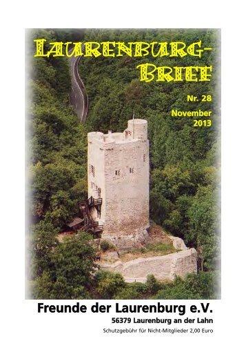 Brief 28.qxd (Page 1) - Heimatverein Laurenburg
