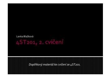2.cvičení 01.03.2013