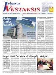 2011.gada 17.februāris Nr.7(192) - Jelgavas Vēstnesis