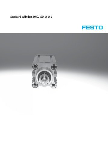 Standard cylinders DNC, ISO 15552 - Allied Automation, Inc.