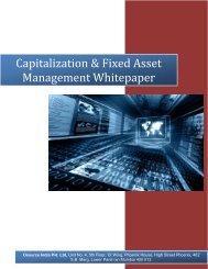 Capitalization & Fixed Asset Management - Osource India