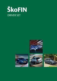 Driver set - ŠkoFin