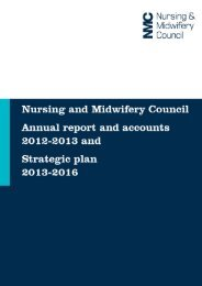 Annual Report and Accounts 2012 - 13 and Corporate Plan 2013 - 16