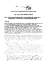 Vlaams minister van Onderwijs, Jeugd, Gelijke Kansen ... - KU Leuven