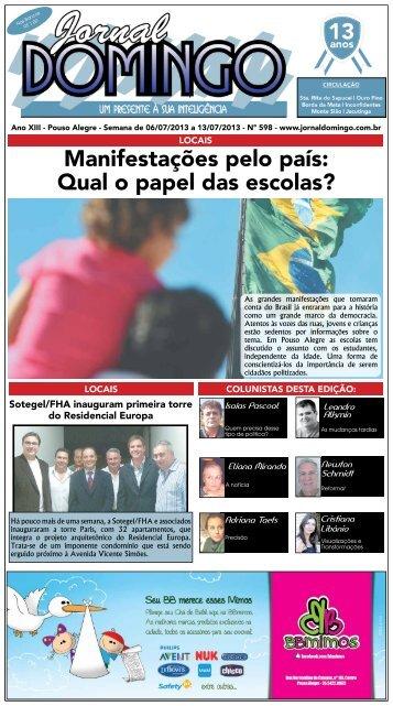 1 Manifestações pelo país: Qual o papel das ... - Jornal Domingo