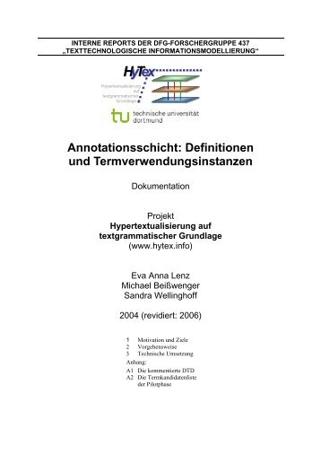 hytex-annotation-termini-und-definitionen