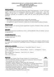 1 formazione rivolta ai pediatri di libera scelta della regione liguria ...