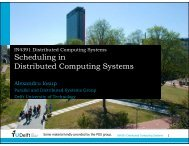 Scheduling in Distributed Computing Systems - Parallel and ...