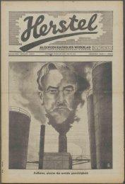 Herstel (1941) nr. 14 - Vakbeweging in de oorlog