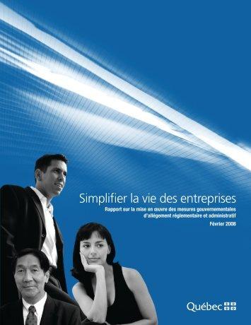 2008 - Finances - Gouvernement du Québec