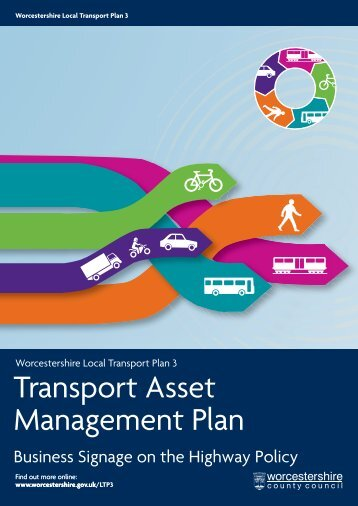 Transport Asset Management Plan - Worcestershire County Council