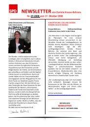 NEWSLETTER 07-2008 - Daniela Behrens