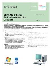 ESPRIMO C Series PC Professionnel Ultra Compact - Fujitsu