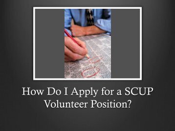How to write an essay for volunteering position?