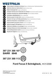 307 231 300 107 SIARR 8848 307 231 300 113 Ford Focus II ...