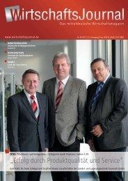 Ausgabe 02/2012 - Wirtschaftsjournal