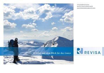 50 Jahre mit dem Blick für das Ganze - REVISA Berroth und Partner ...