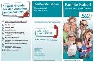 Familie Kabel! - Stadtwerke Lindau