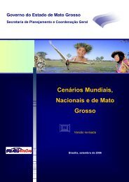 Macrocenários - seplan / mt - Governo do Estado de Mato Grosso