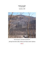 Butte Report - Hazard Mitigation Web Portal - State of California