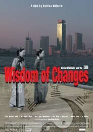 press kit - wisdom of changes – richard wilhelm and the i ching