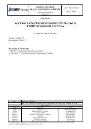 ACCESSO E CONFERIMENTO RIFIUTI IMPIANTO DI ... - Herambiente