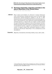 Revising citizenship: migration and fado in the play of identities in ...